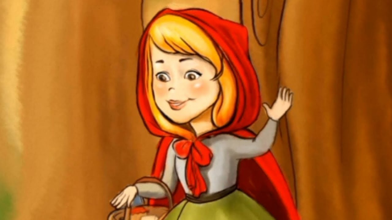 قصة ذات الرداء الأحمر قصص وحكايات كل يوم