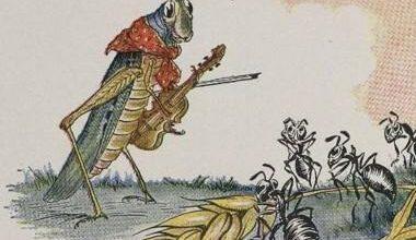 قصة النمل والجراده